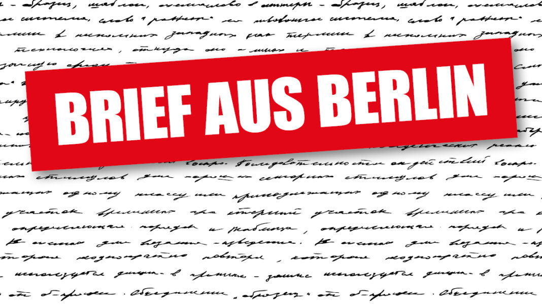 Brief aus Berlin